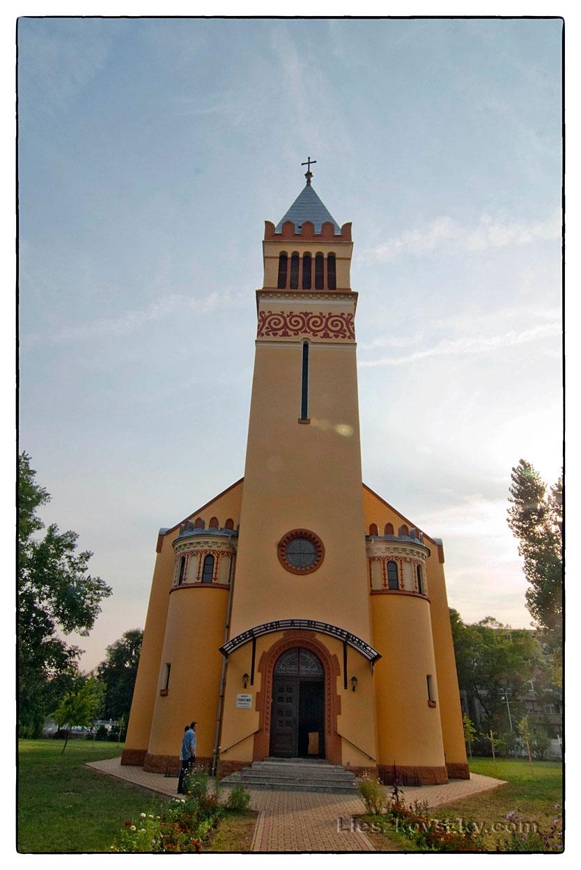 Kispesti Evangélikus Egyházközség temploma